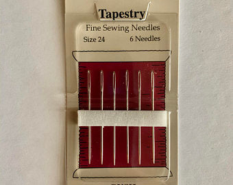 Piecemakers Needles Size 24 (set of 6)