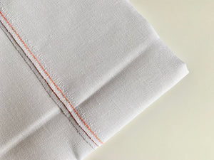 White Zweigart Fabric, Choose Linen, Aida or Lugana and Count