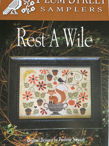 Rest a Wile by Plum Street Samplers