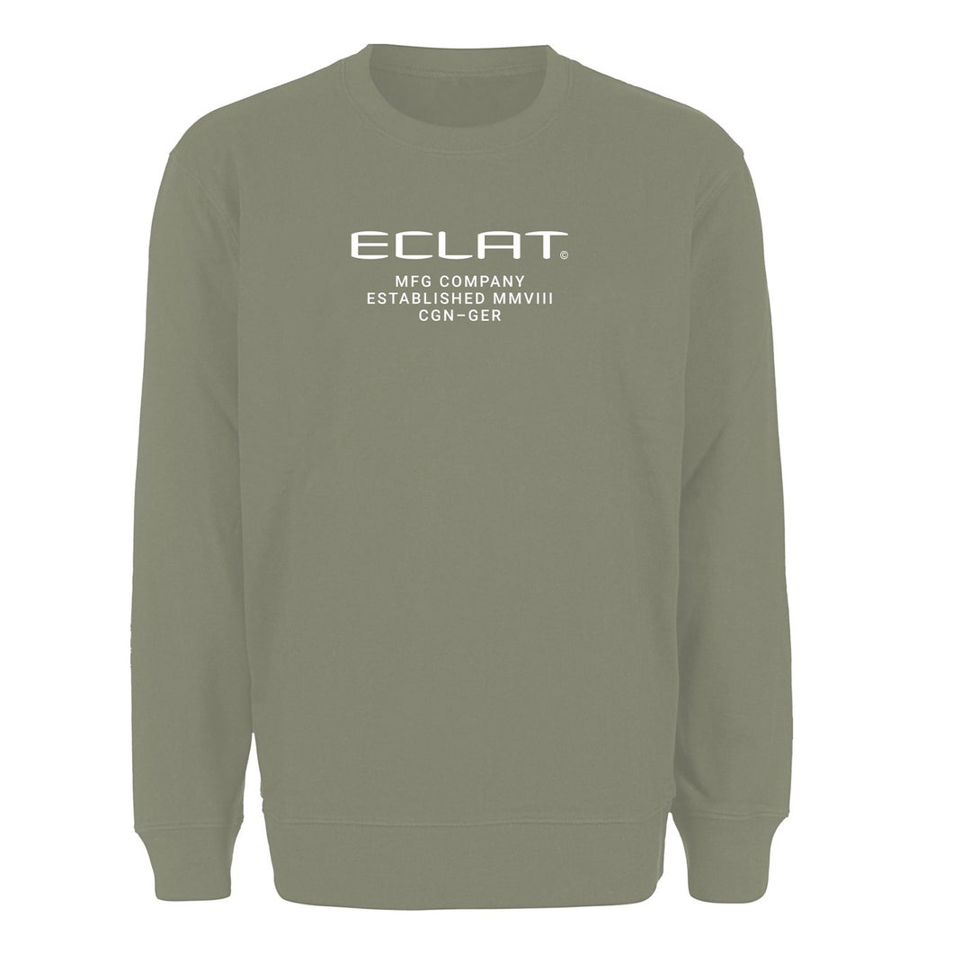 éclat Techno Embroidery Sweater (Khaki)