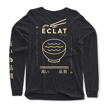 Load image into Gallery viewer, éclat Soup Longsleeve T-Shirt (Black)