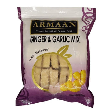 Armaan Garlic Ginger Mix Cubes 400g-01a Frozen-Megacart Foods