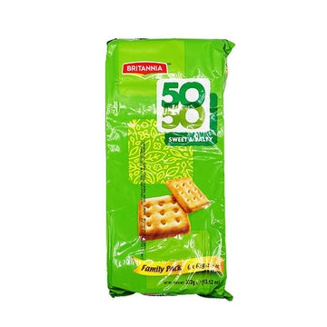 Britannia 5050 Sweet & Salty Family Pack 372g-14 Bakery, Biscuits & Breads-Megacart Foods