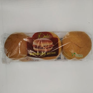 Burger Buns 6pcs-14 Bakery, Biscuits & Breads-Megacart Foods