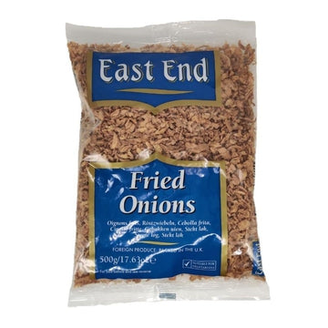 E.E Fried Onions 500g-12 Powa, Pani Puri & Other items-Megacart Foods