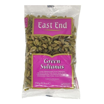 E.E Green Sultana Grapes 250g-10 Whole Spices & Seeds & Dry Fruits-Megacart Foods