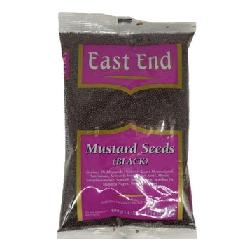 E.E Mustard Seeds Black 400g-10 Whole Spices & Seeds & Dry Fruits-Megacart Foods