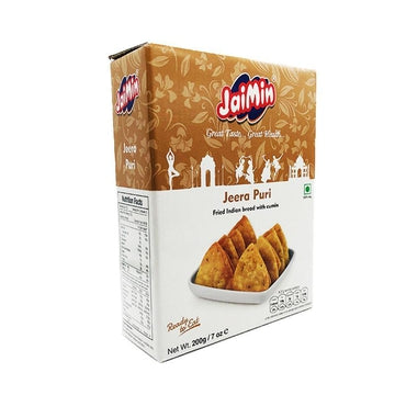Jaimin Jeera Puri 200g-13 Indian Snacks-Megacart Foods