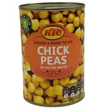 KTC Chick Peas 400g-05 Canned Tins-Megacart Foods