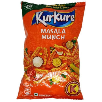 Kurkure Masala Munch 95g-13 Indian Snacks-Megacart Foods