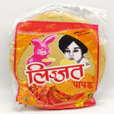 Lijjat Red Chilli Papad 200g-15 Noodles & Papad-Megacart Foods
