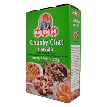 MDH Chunky Chat Masala 100g-09 Ground Spices & Masalas-Megacart Foods