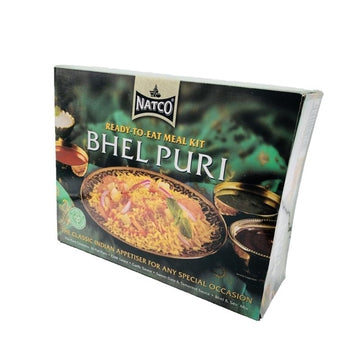 Natco Bhel Puri Kit 500g-12 Powa, Pani Puri & Other items-Megacart Foods