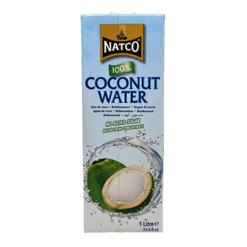 Natco Coconut Water 1Ltr-08 Tea & Soft Drinks-Megacart Foods