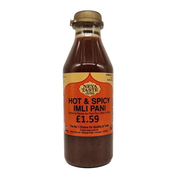Neya Taste Hot & Spicy Imli Pani 500ml-12 Powa, Pani Puri & Other items-Megacart Foods