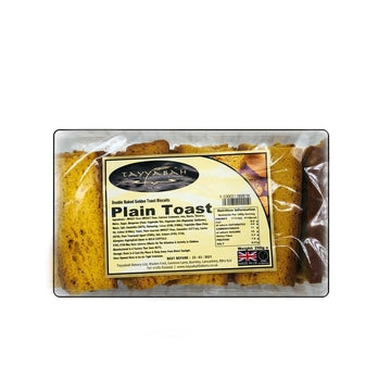 Plain Toast (250g)-14 Bakery, Biscuits & Breads-Megacart Foods