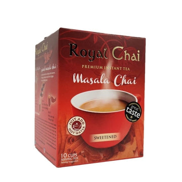 Royal Chai Masala Chai (sweetened)-08 Tea & Soft Drinks-Megacart Foods
