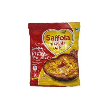 Saffola Oats Peepy Tomato 40g (Pack of 5)-12 Powa, Pani Puri & Other items-Megacart Foods