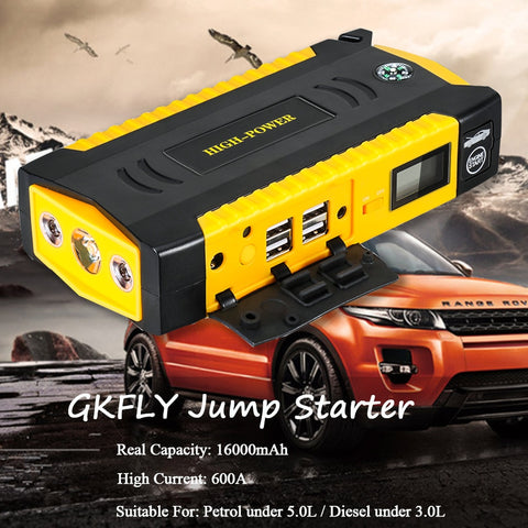 Car Jump Starter Power Bank GKFLY