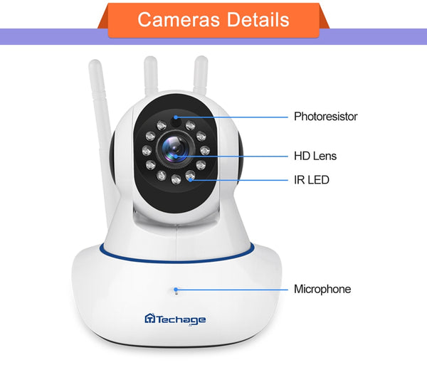 Baby Monitor Video Security Surveillance Camera