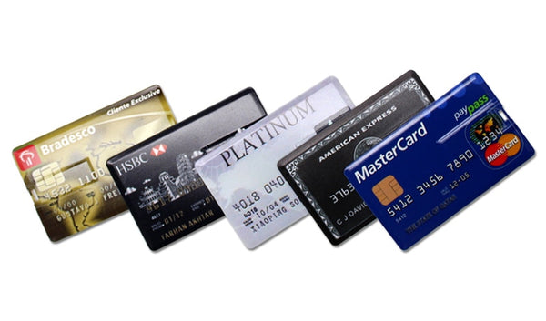 High Speed Bank Credit Card USB