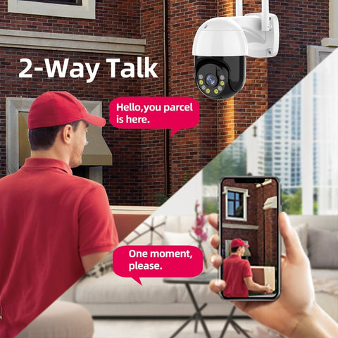 CCTV Camera Two Way Speak Audio
