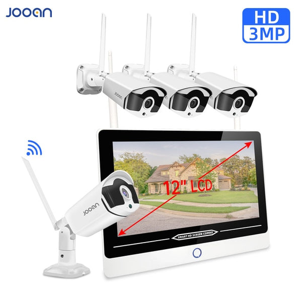 Security Camera Set Video Surveillance Kit Jooan