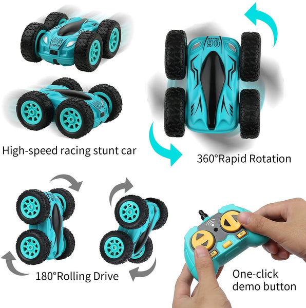 RC Car Double-sided bounce Drift Stunt 3.7 inch