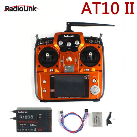 Original RadioLink AT10 II 2.4Ghz 12CH RC