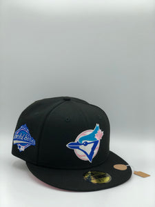 "TORONTO BLUE JAYS x 1992 WS EXCLUSIVE HATCLUB ""COOKIES N' CREME"" NEW ERA 59FIFTY (PINK UV)"