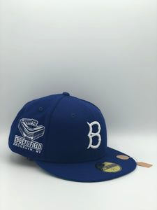 BROOKLYN ROBBINS x EBBETS FIELD NEW ERA 59FIFTY (KELLY UV)