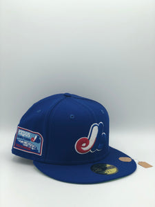 MONTREAL EXPOS x OLYMPIC STADIUM NEW ERA 59FIFTY (SLIME GREEN UV)