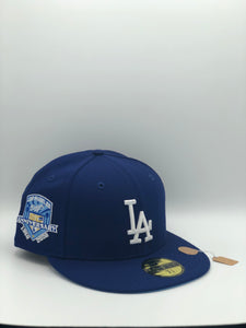 LOS ANGELES DODGERS x 50TH ANNIVERSARY NEW ERA 59FIFTY (ICY BLUE UV)
