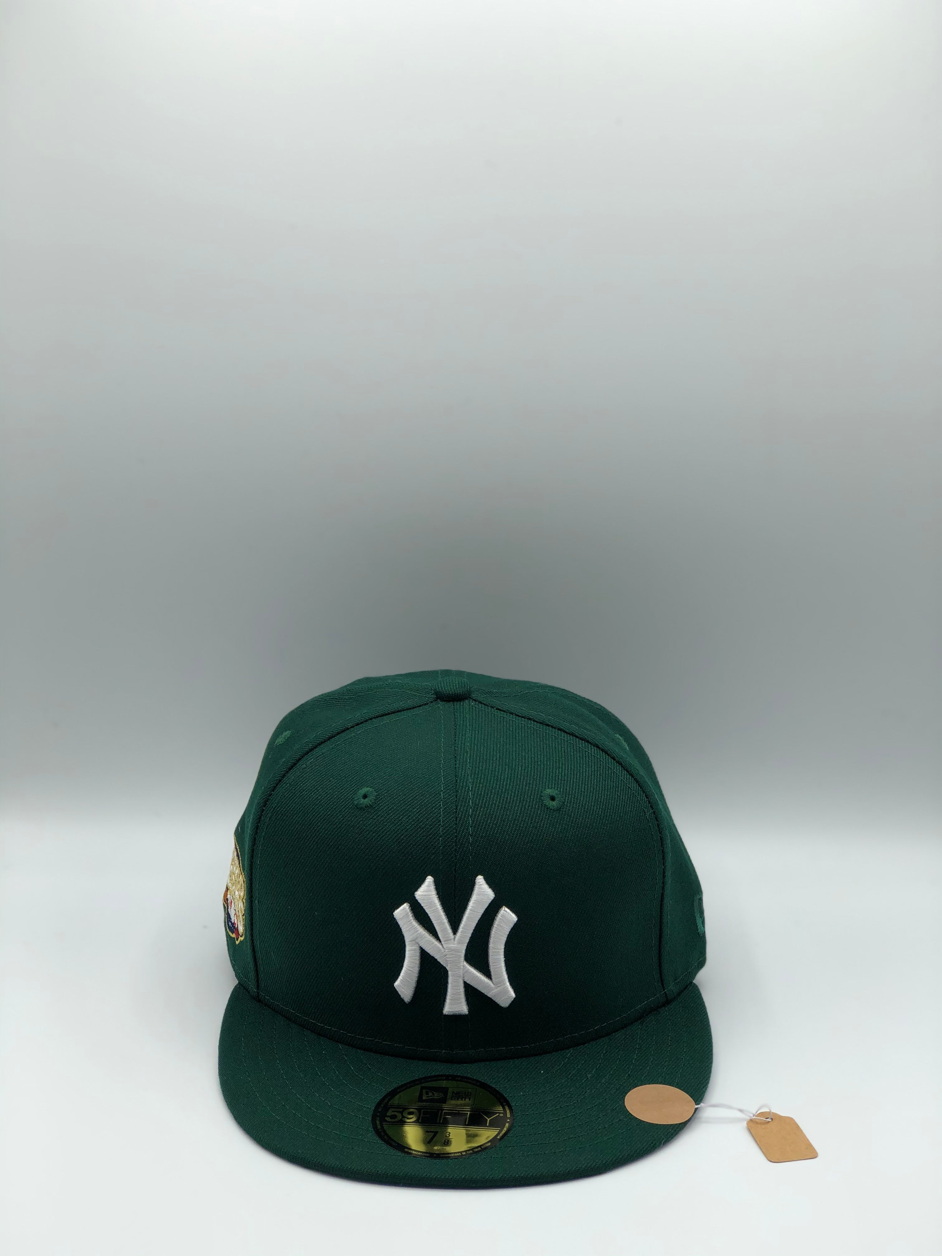 "NEW YORK YANKEES x 2009 WS EXCLUSIVE HATCLUB ""ICY GREEN"" NEW ERA 59FIFTY (ICY UV)"