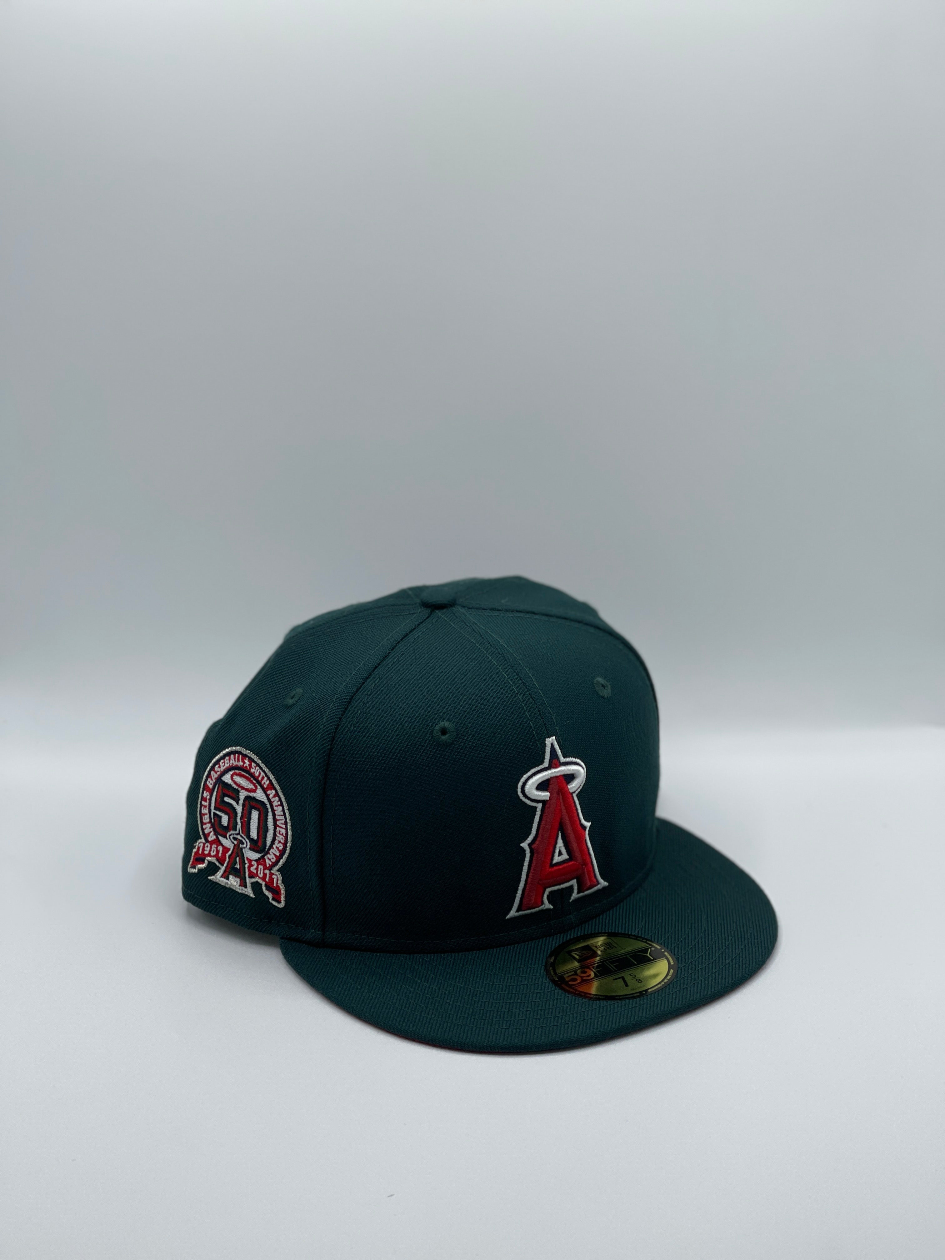 "ANAHEIM ANGELS x 50TH ANNIVERSARY ""WATERMELON"" NEW ERA 59FIFTY"
