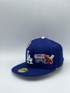 LOS ANGELES DODGERS x CHAMPIONSHIP LOW RIDER EXCLUSIVE NEW ERA 59FIFTY (GREY UV)