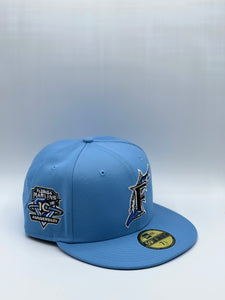 FLORIDA MARLINS  x 10TH ANNIVERSARY NEW ERA 59FIFTY (ROYAL UV)