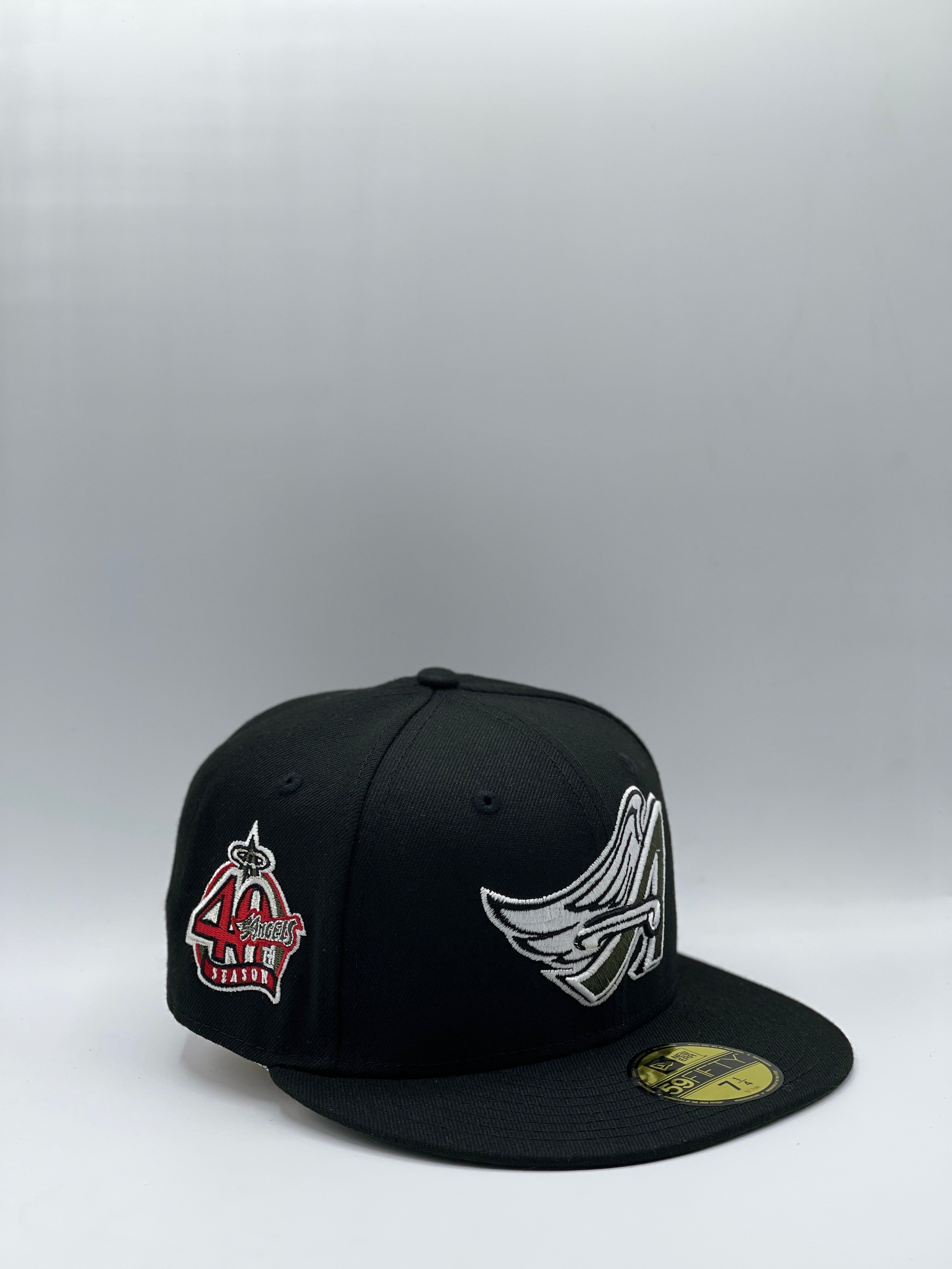 ANAHEIM ANGELS x 40TH ANNIVERSARY NEW ERA 59FIFTY (OLIVE UV)