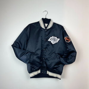 STARTER x LOS ANGELES KINGS SATIN VARSITY JACKET