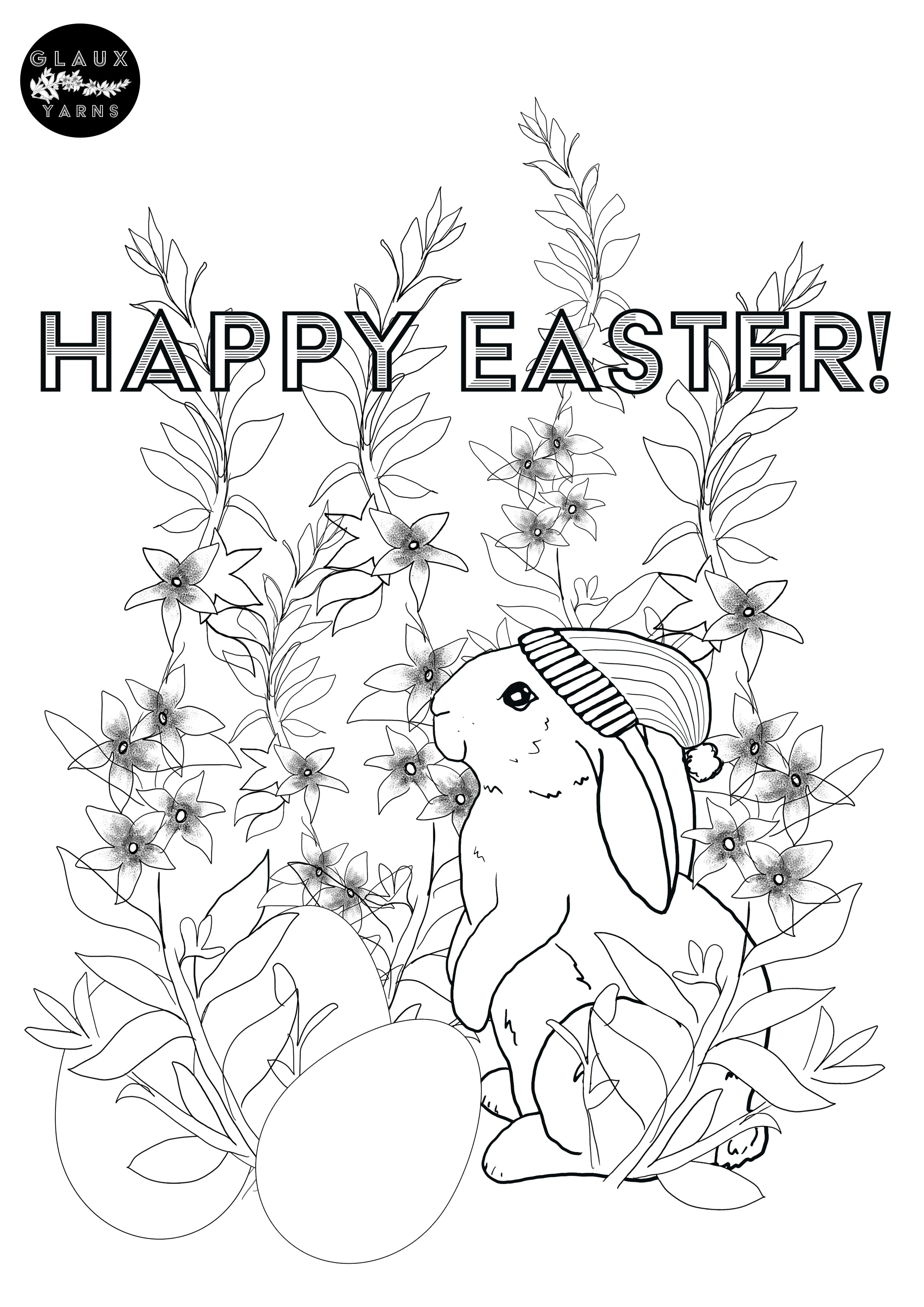 Easter Colouring Competition Image