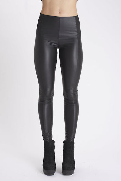 Thea - Faux Leather 'Wonderpants' Leggings