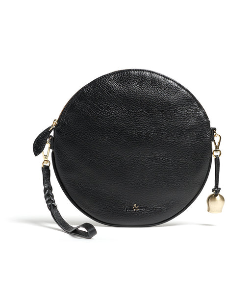 Bell & Fox - Round Crossbody Bag & Wristlet - Black