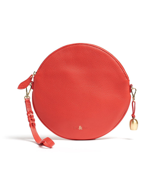 Bell & Fox - Round Crossbody Bag & Wristlet - Poppy