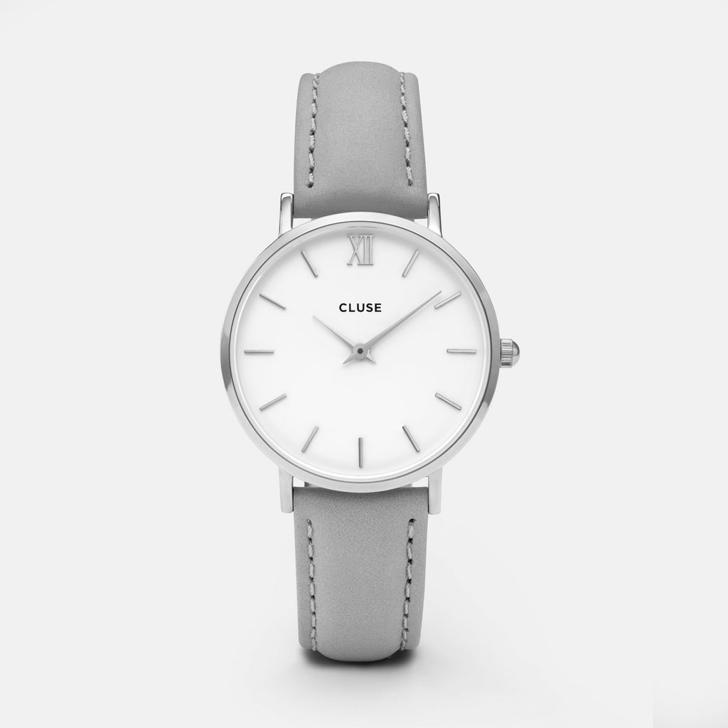 CLUSE WATCH - MINUIT - SILVER GREY