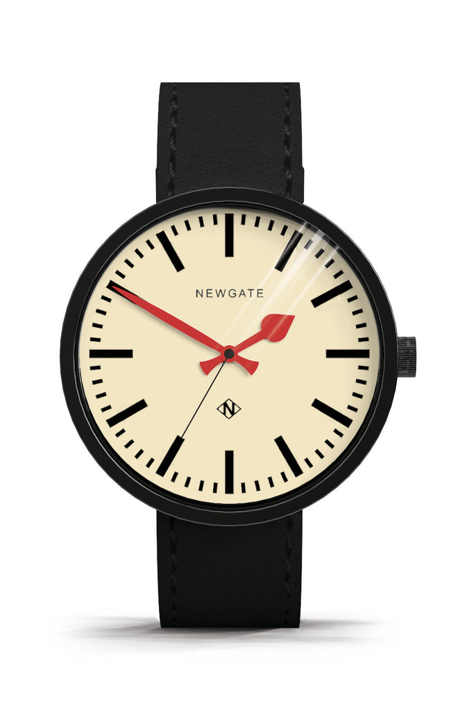 Newgate Watches - The Drummer Grand Watch - Black