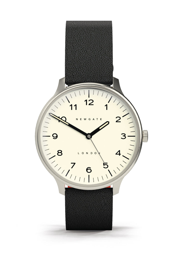 Newgate Watches - The Blip Watch - Cream/Black