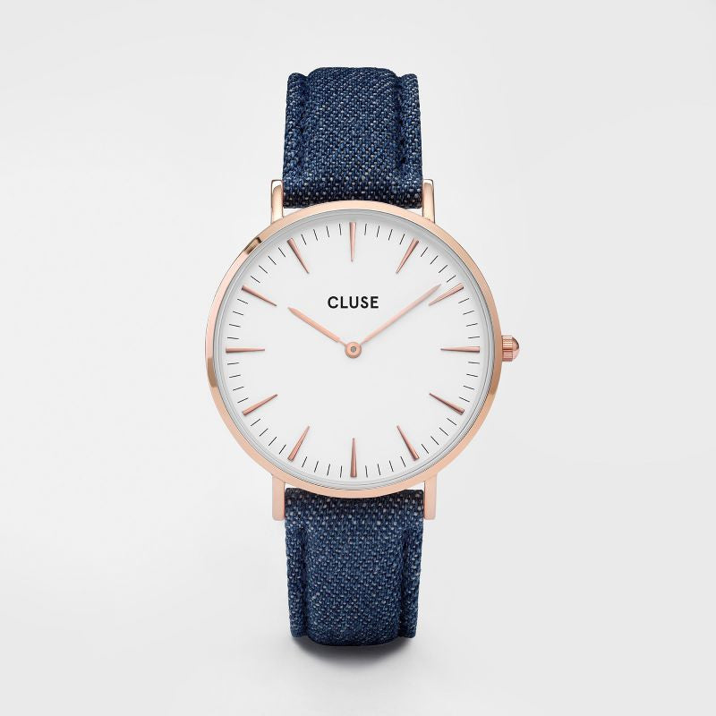 Cluse Watch - La Boheme - Rose Gold White/Denim