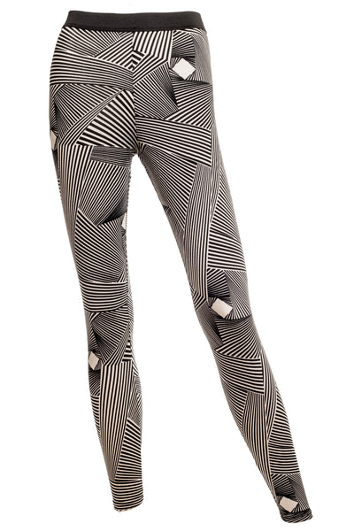 Jess - Soft Jersey Graphic Print Leggings