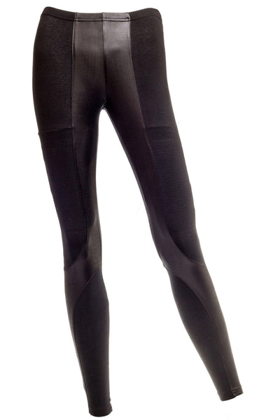 Joni Faux Leather Moto Leggings