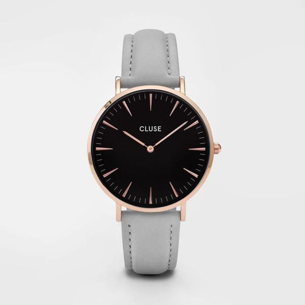 Cluse Watch - La Boheme - Rose Gold Black/Grey